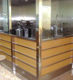 Valero Metalgrup cabina churros acero inoxidable